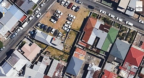 Corner York & Greatmore Street - Google Maps Satellite View